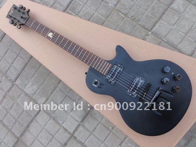 guitar hot Cheap guitar Electric Guitar Matte Black free shipping in stock DWEO00094