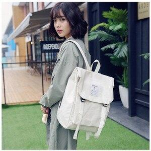 Image 3 - Darmowa wysyłka kobiety studenci modny plecak Mochila Feminina Mujer 2019 torby podróżne szkolne Bolsa Escolar torba męska