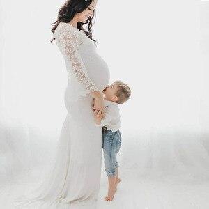 Image 3 - Haut en dentelle accessoires de photographie de maternité