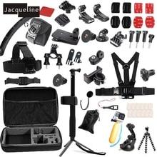 JACQUELINE for Accessories Kit Selfie Sticks Monopod w/Phone Lock Bracket Clip for Gopro hero 5 4 3+2 SJCAM/Xiaomi yi EKEN H9R
