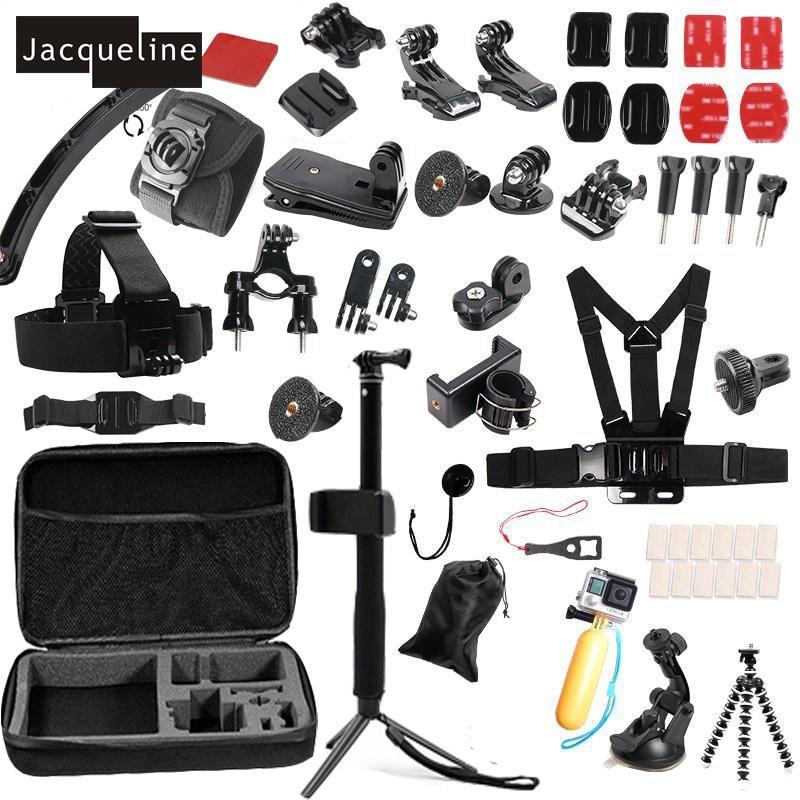 Jacqueline for Accessories Kit Selfie Sticks Monopod for hero Gopro 6 - Kamera dan foto - Foto 1