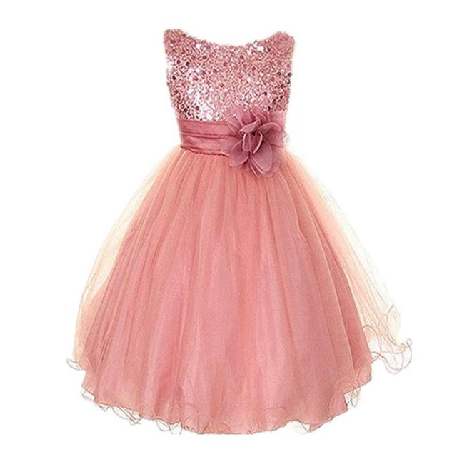 Aliexpress.com : Buy New Kids Girls Birthday Girl Dress Cute ...