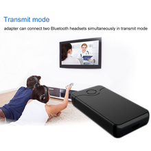 Bluetooth 4.0 Transmitter Receiver 3.5mm Audio Cable 2 in 1 Wireless Adapter for Headphone Speaker TV Stereos MP3 MP4