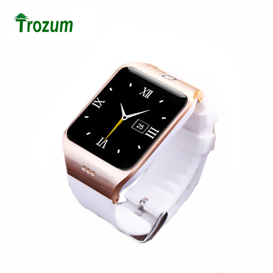 TROZUM LG118 Bluetooth Smart Watch Wrist Watch Build-in NFC Camera Support SIM Card HD Screen For Android IOS phone