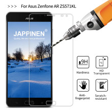 Jappinen Tempered Glass For Asus Zenfone AR ZS571KL Protective Film 2.5D 9H Screen Protector Clear Glass(China)