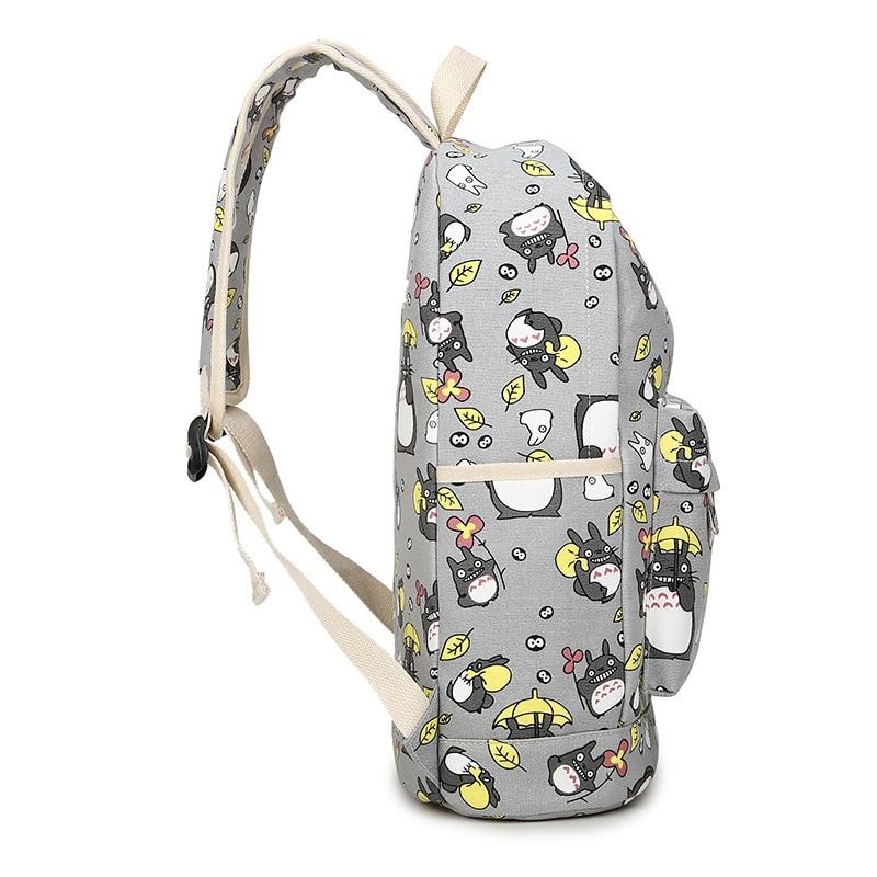 Totoro Backpack 3D School Bag 1