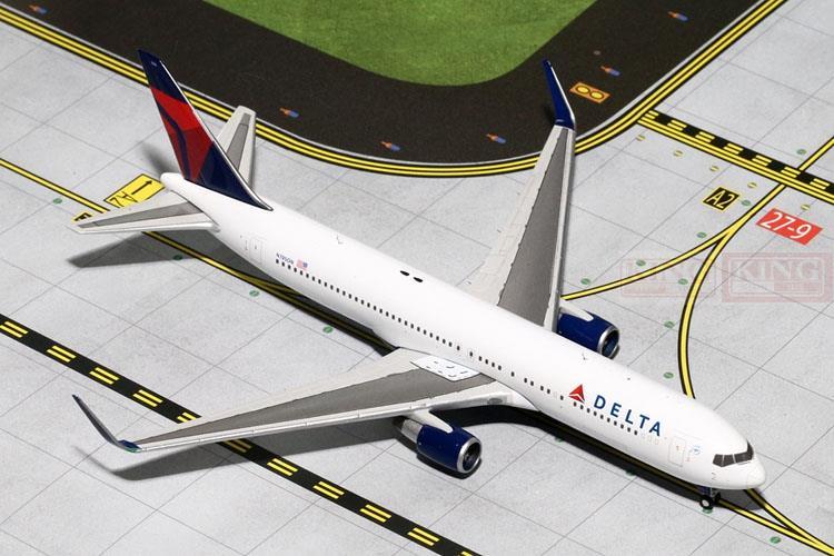 GeminiJets GJDAL1452* America B767-300/w 1:400 Delta commercial jetliners plane model hobby