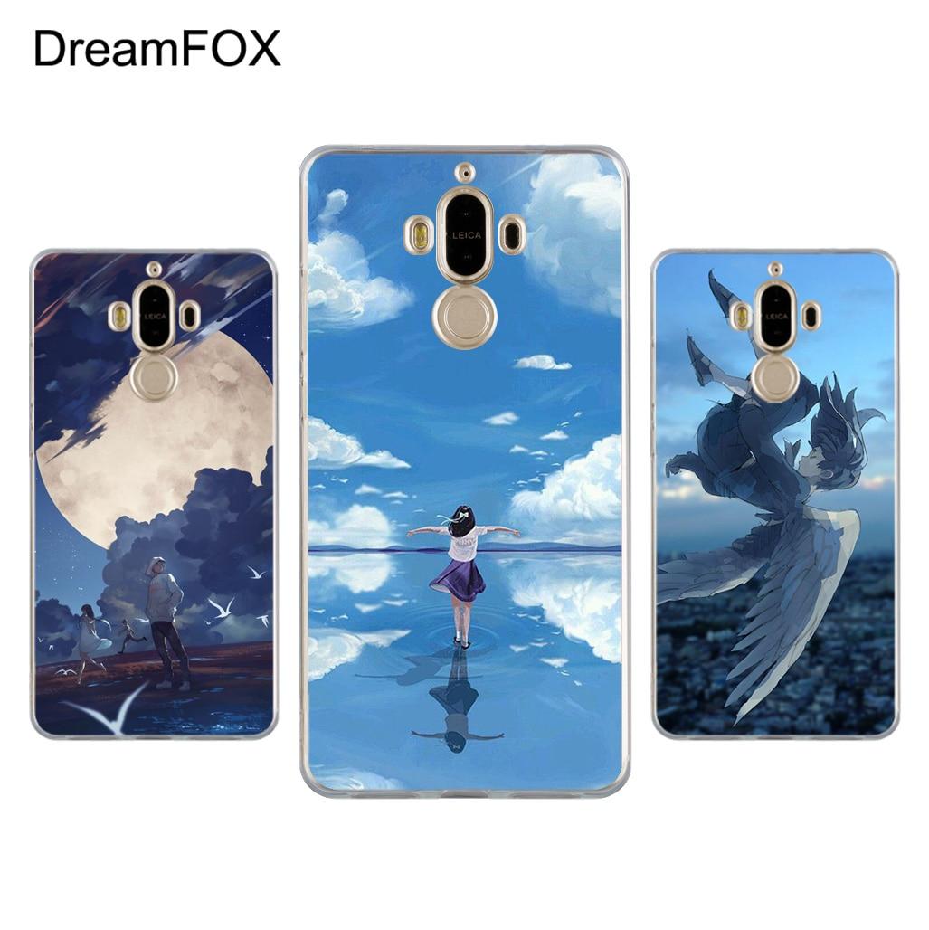 DREAMFOX L105 Anime Cartoon Characters Soft TPU Silicone Case Cover For Huawei Mate G 7 8 9 10 Nova 2 Lite Pro Plus