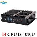 Partaker Безвентиляторный Промышленный Мини PC Windows 7 Core i3 i5 i7 2 * Intel Гигабитные сетевые контроллеры 6 * RS232 Тонкий Компьютер 300 М Wifi 2 * HDMI TV Box