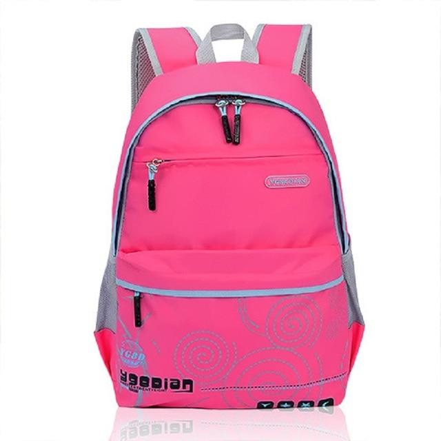 Bolsa Escolar Feminina Infantil : ? prova d ?gua crian?as escola bags mochila