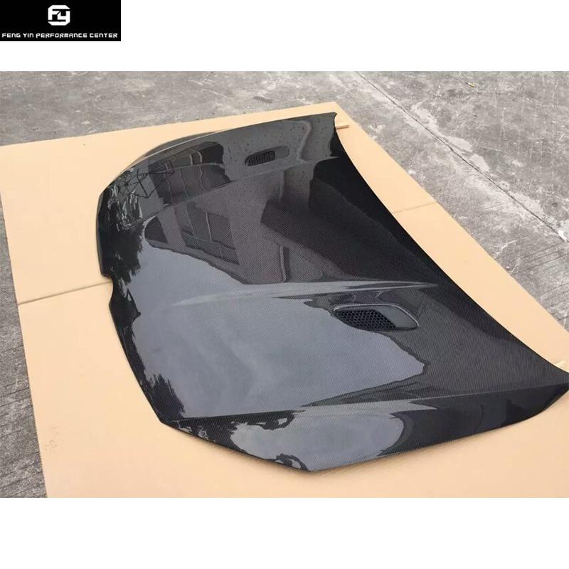 Vente chaude Golf7 en fiber de carbone de voiture moteur bonnets hood couverture pour VW Golf 7 MK7 2014UP