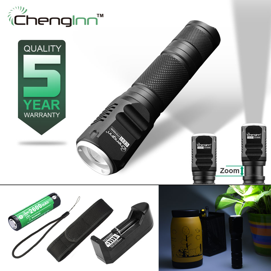 Strobe flashlight Adjust convoy flashlight CREE Xpe Flashlight Waterproof Zoom led torch Aluminium alloy Zoomable light Chenglnn tt tf ths 02b hybrid style black ver convoy asia exclusive