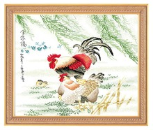 Needlework,DIY Cross Stitch,Sets For Embroidery kits,11CT&14CT,Chicken one