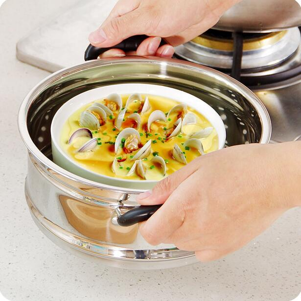 Cooking Tools Thickening Stainless Steel Steamer 20-30CM General Food Steamer Basket Multi-purpose Soup Pot Steaming Rack