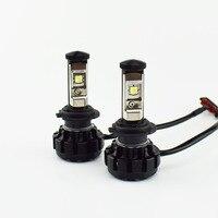 1 Pair Car Headlight Bulb Kit Cree LED Chip XML2 Hi Lo Beam 6000K 12V 24V