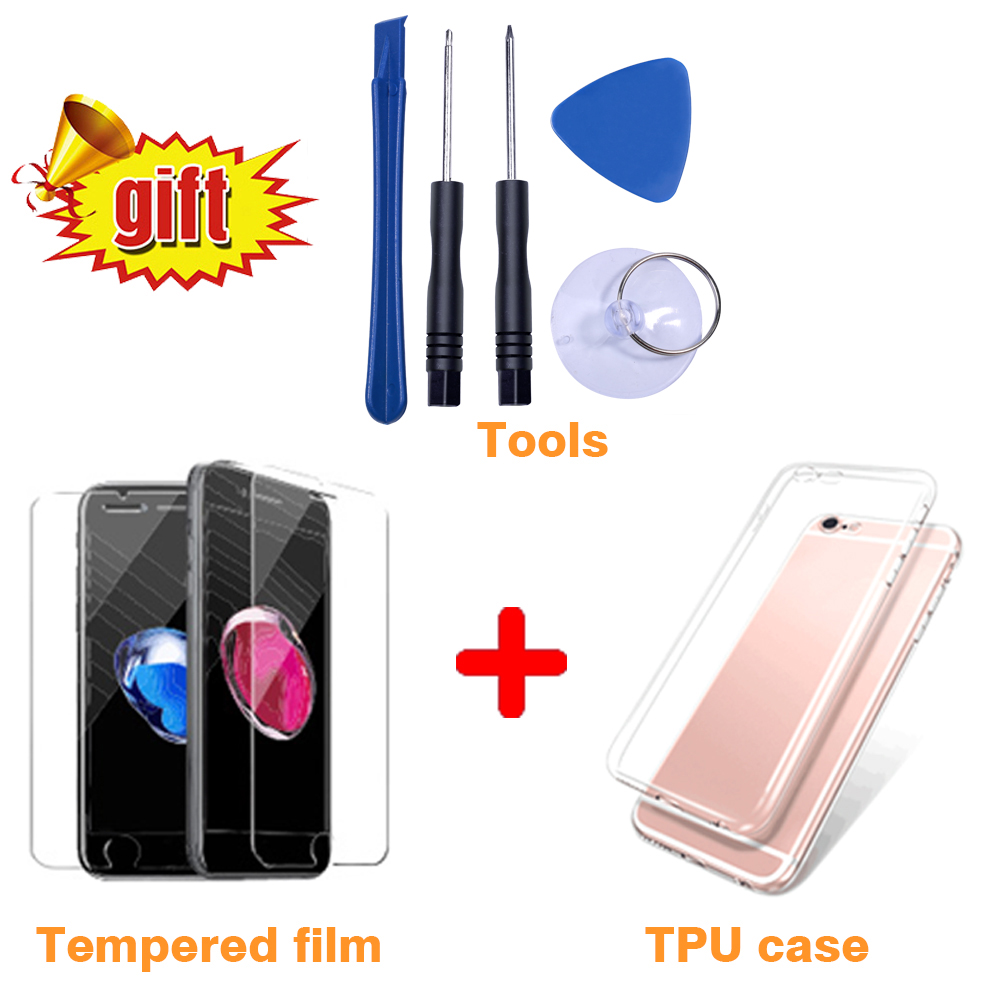 Black White Assembly LCD Display Digitizer for iPhone 6s AAA Quality LCD Touch Screen for iPhone Black/White Assembly LCD Display Digitizer for iPhone 6s AAA Quality LCD Touch Screen for iPhone 6 7 5s No Dead Pixel with Gifts