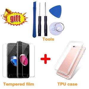 Image 2 - ЖК дисплей для iPhone 6 7 8 plus X тачскрин, аналагово цифровой преобразователь для iPhone 6S 5 5S SE сборки Замена ААА + + + Качество с подарками