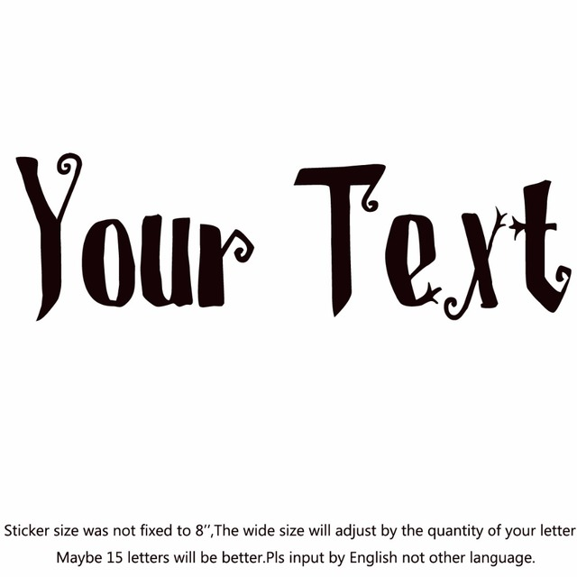 Your text vinyl decal sticker car window bumper custom 7 personalized letteringst christmas on