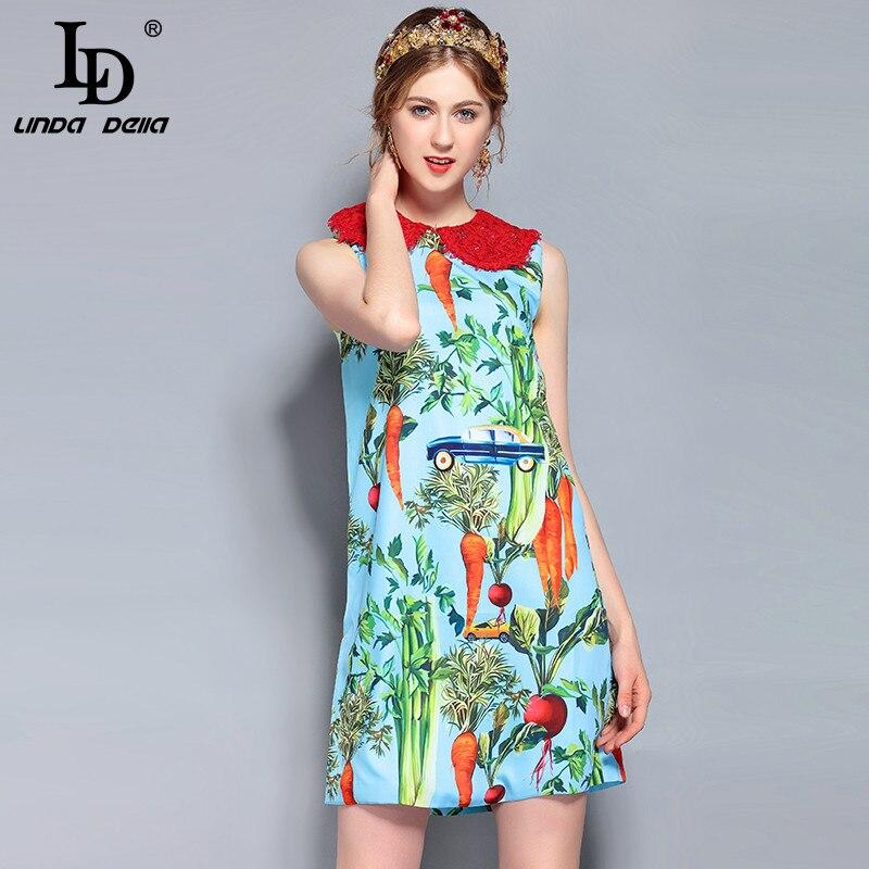 d56e060edcf Svoryxiu сезон  весна-лето взлетно Посадочной Полосы Хлопковое платье  женские Роскошные Хрустальные Алмазы цветочный