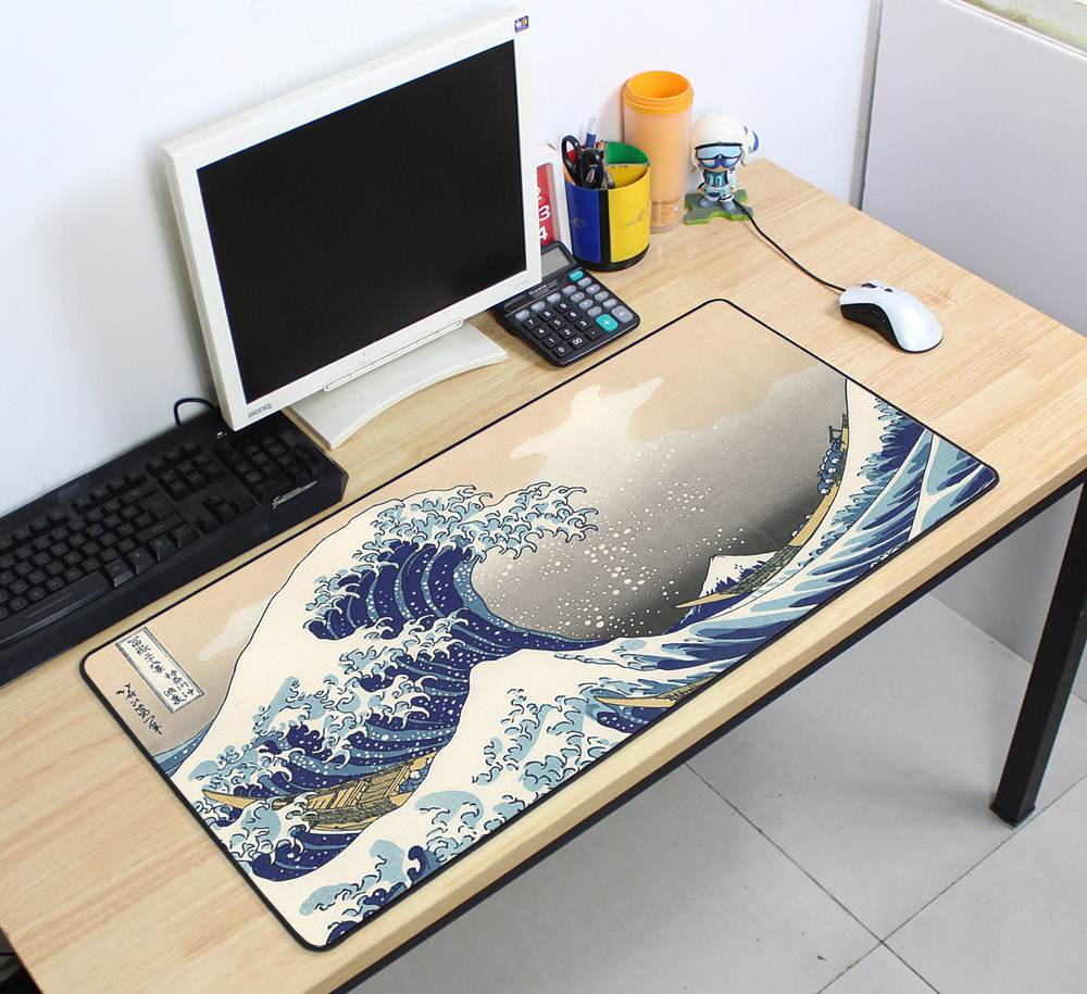 Custom Large mouse pad 700x400mm speed Keyboards Mat Rubber Gaming mousepad Desk Mat for game player Desktop PC Computer Laptop mobile phone