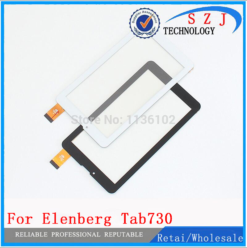 New 7'' inch Touch screen Digitizer Supra M728G 3g Elenberg Tab730 3G Tablet Touch panel Glass Sensor replacement Free Shipping original 7 inch digma hit 3g ht7070mg tablet touch screen panel digitizer glass sensor replacement free shipping