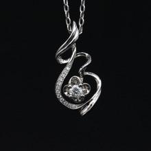 LASAMERO Halo 0.11CT 18k Gold Round Cut Square Center Pave Set Natural Diamond Pendant Necklace Chain Women Fine Jewelry