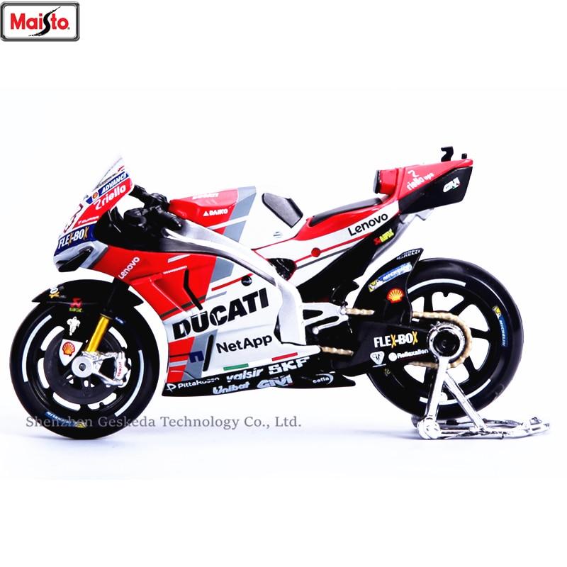 Maisto 1:18 Ducati GP2018 Campeonato de Corrida Silvardo original autorizado simulação modelo de moto liga brinquedo do carro