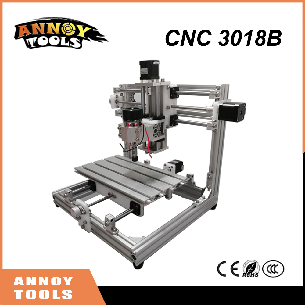 High Quality CNC 3018B DIY Laser Engraving Machine 26*16CM Working Area CNC Machine,GRBL Control Drive Board PCB Milling Machine moski cnc3018 er11 diy cnc engraving machine pcb milling machine wood router laser engraving grbl control cnc 3018 best toys