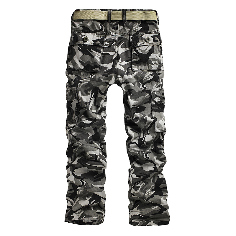 428bb40da87 Tactical Male Plus Size Cotton Breathable Multi Pocket Military Army  camping hunting Camouflage Camo Cargo Pants For Men-in Hunting Pants from  Sports ...