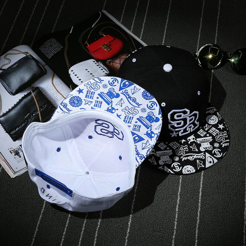 Baseball Caps Hip Hop Zomer Lente Snapback Zon Cap Vintage Gedrukt - Kledingaccessoires - Foto 4