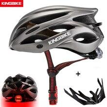 KINGBIKE HOT Bicycle Helmet Men Women MTB Road Cycling Helmets Ultralight Integrally molded EPS+PC Bike helmet Capacete Ciclismo