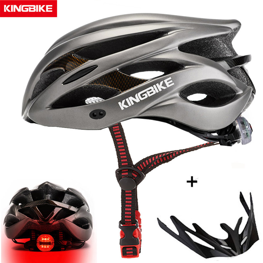 Kingbike quente capacete de bicicleta das mulheres dos homens mtb ciclismo de estrada capacetes ultraleve integralmente moldado eps + pc capacete de bicicleta