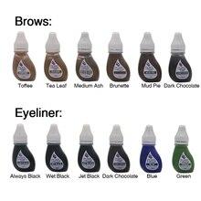 BTCH Pigment pour sourcils, Eyeliner pour lèvres, 1 pièce, Original, USA