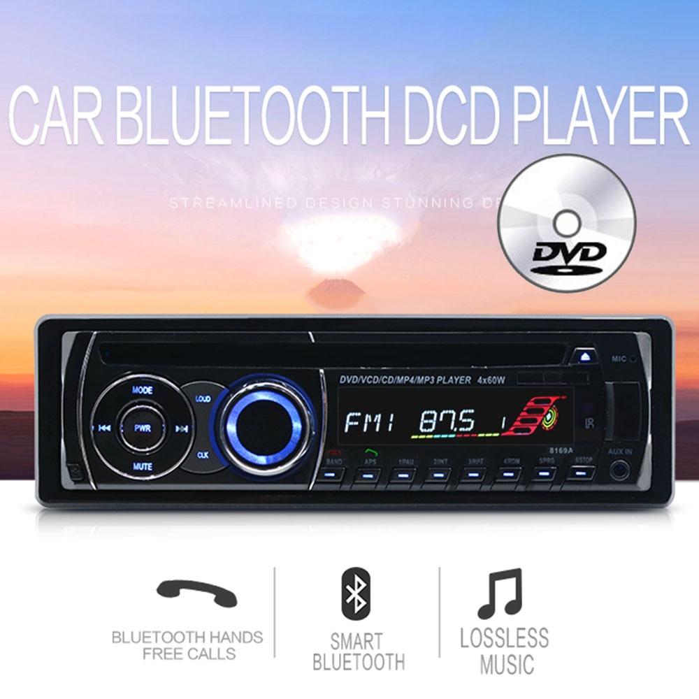 medium resolution of 1 universal 1 din bt bluetooth car remote control fm car radio audio tuner mp3 cd dvd stereo audio music player