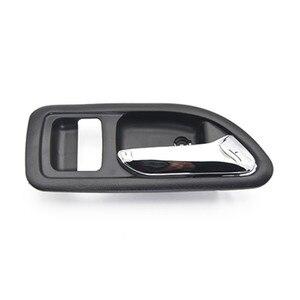 Image 3 - 4PCS BLACK INSIDE DOOR HANDLE FOR Great Wall Haval hover H3 H5 2010 2013 inside Handle car handle door knob
