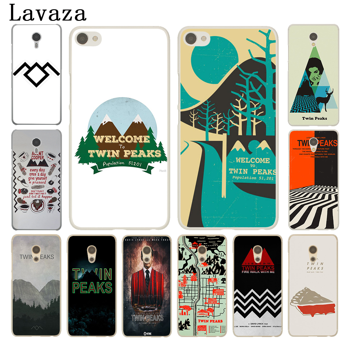 Lavaza Welcome To Twin Peaks Hard Case for Meizu M6 M5 M5C M5S M2 M3 M3S Mini Note U10 U20 Pro 6 7 Plus Cover