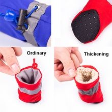 Winter Warm Dog Shoes Anti-slip Pet Shoes for Small Dogs Cats Chihuahua Yorkie Thick Snow Dog Boots Socks 4pcs