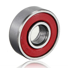 10 ピース/セットスケート 608zz ローリングスケートボードロングボードホイールスケートベアリングローラー ABEC 7 セットチタン軸受鋼