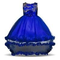 2017 Summer Wedding Flower Girl S Wear Sweet Baby Kids Clothes Girl S Baptism Dress For