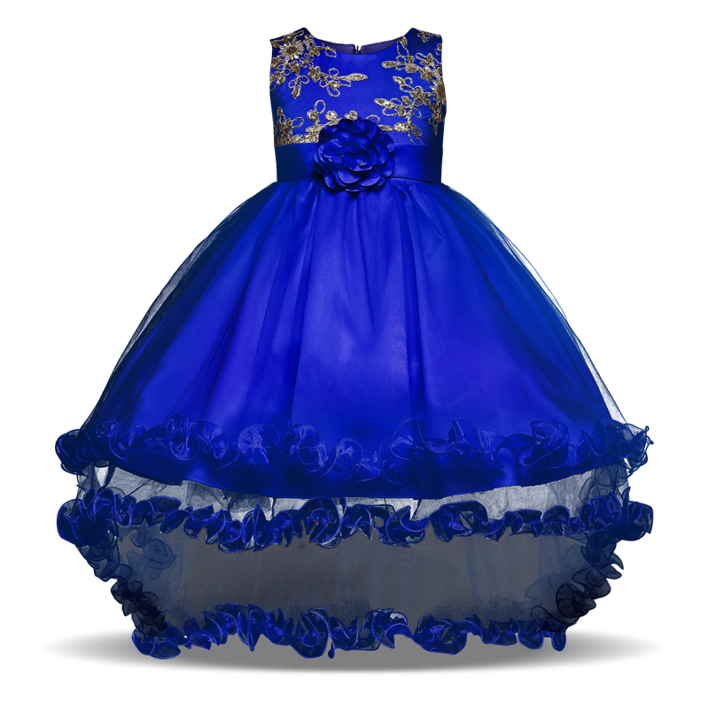 Summer Wedding Flower Girl's Party Wear Kids Clothes Teenage Girl Communion Pageant Dresses for Children Birthday Party Outfits сергей михалков стихи друзей