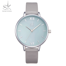 Shengke Watches Women Fashion Watch 2017 New Elegant Dress L