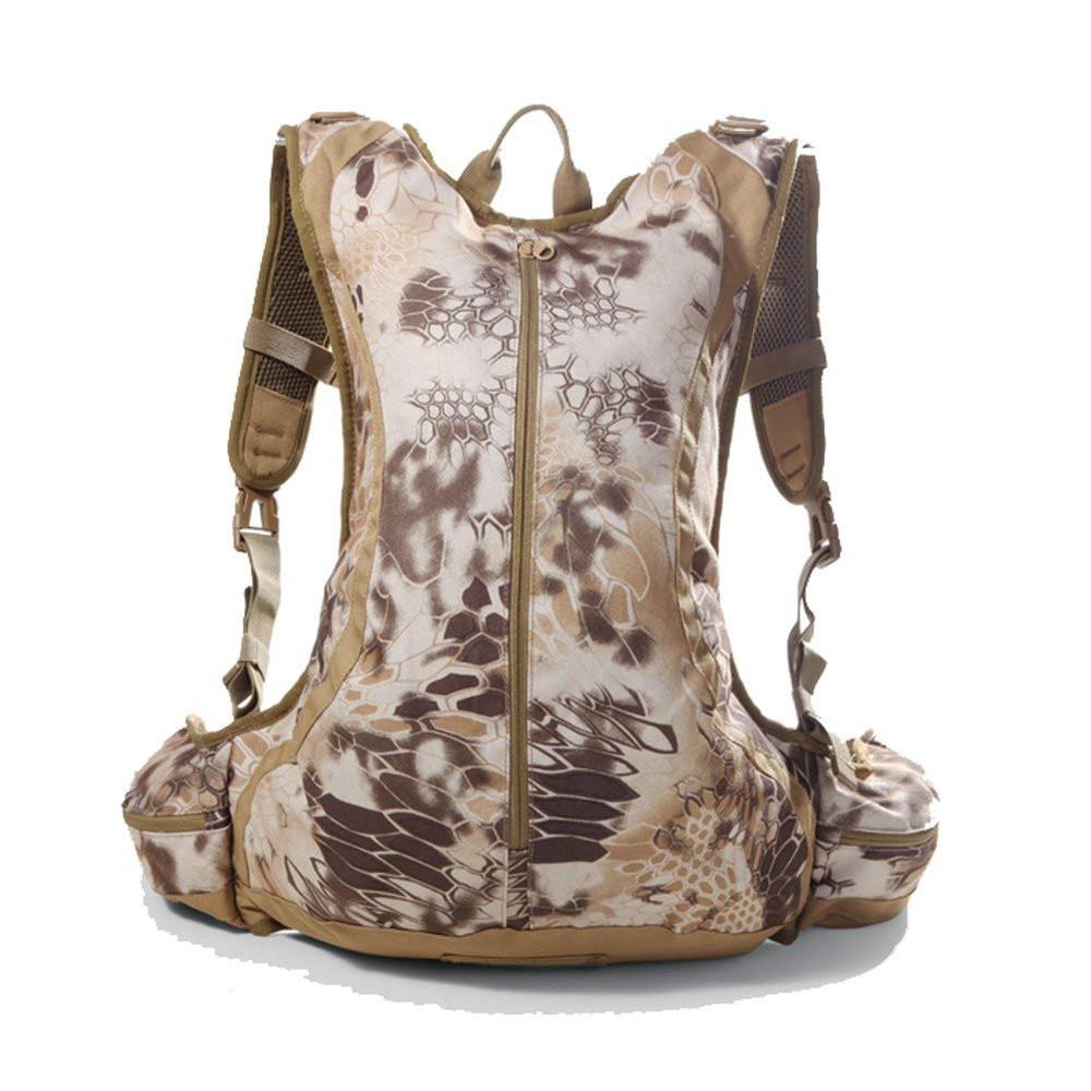 2018 new 20L Military Tactical Molle Assault Combat Rucksack Waterproof Lightweight Camping Bladder Backpack