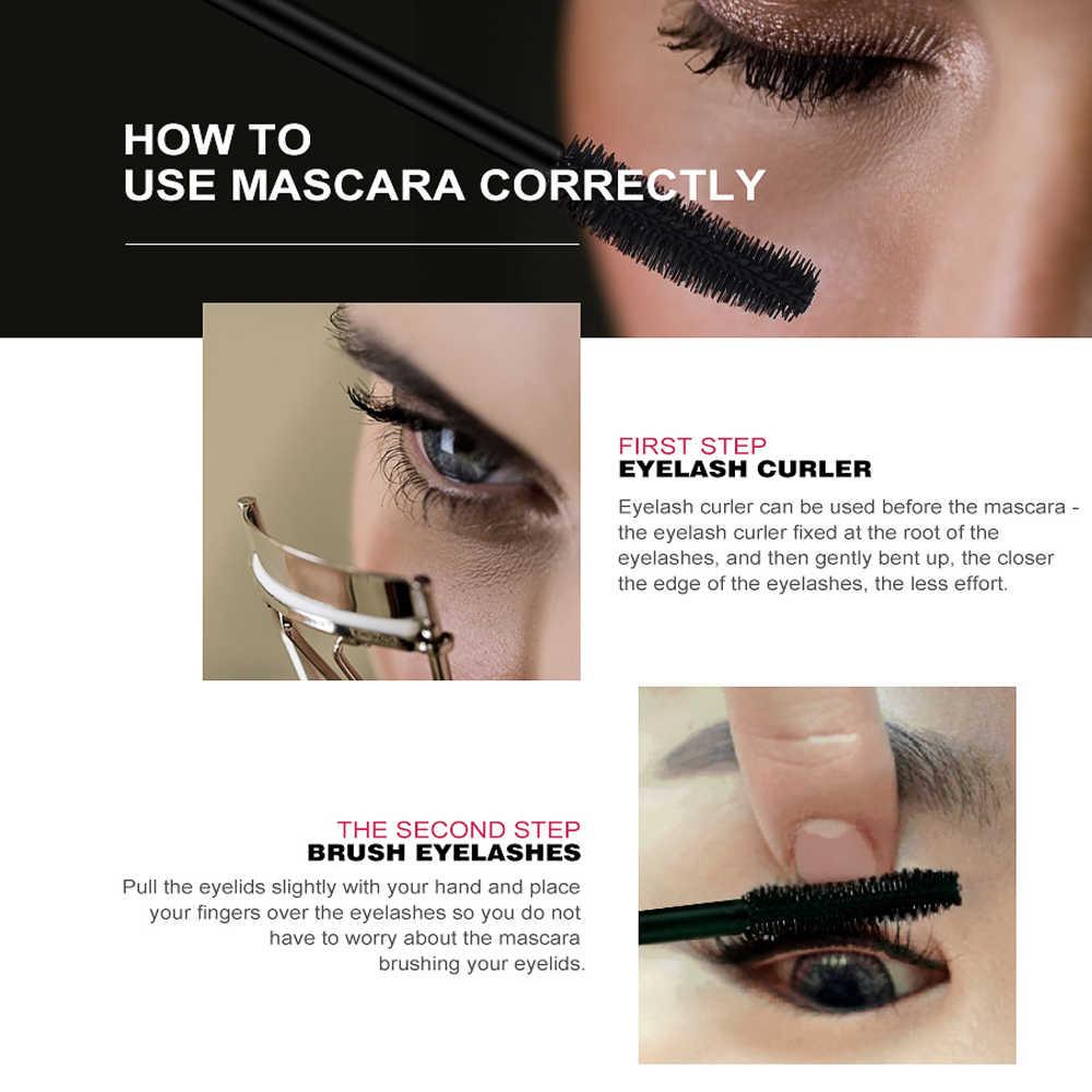 O.TWO.O Profesional Volume Keriting Bulu Mata Hitam Mascare Tahan Air Curling Tick Bulu Mata Lengtheing 3D Mata Makeup Maskara