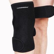 Exercise OEM custom sports knee adjustable brace enhanced anti-collision Leggings