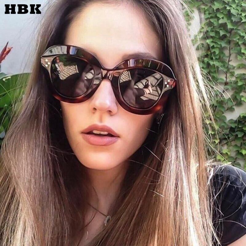 HBK Nieten Katze Brillen Frames Für Frauen Marke Designer 2018 Luxus ...