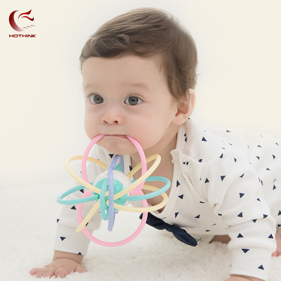 Responsible 3 6 9 12 Months Baby Toy Baby Ball Toy Rattles Develop Baby Intelligence Baby Toys Teether Hand Bell Rattle For Children Rich In Poetic And Pictorial Splendor