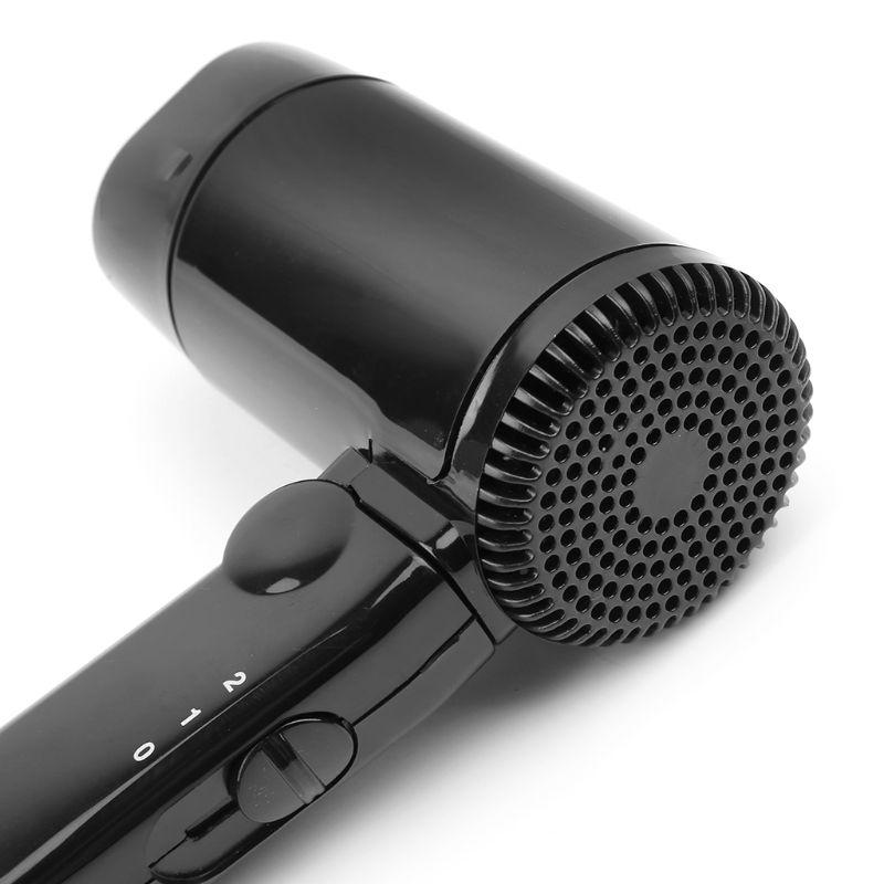 Secador de cabelo portátil dobrável quente e