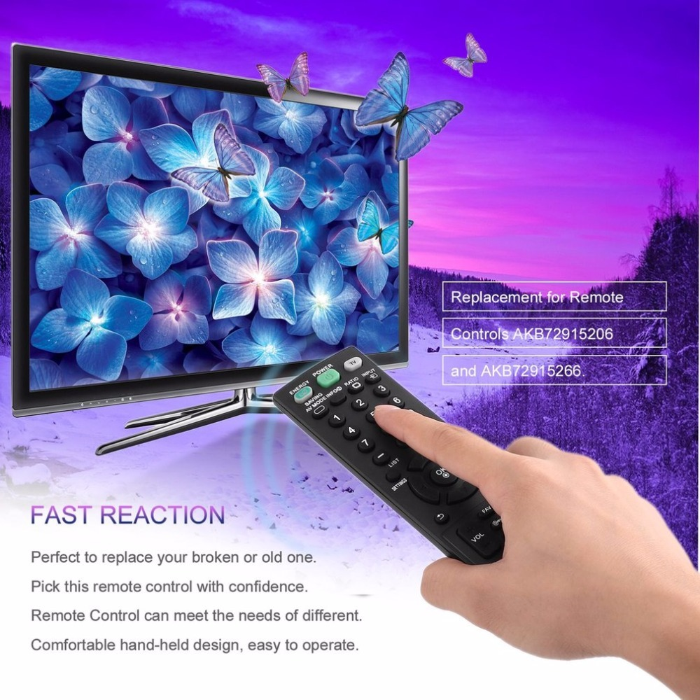 2018 New TV Remote Control Replacement for LG TV AKB73655806 32LS3400 32LS3410 32LS3500 37CS560 LED LCD TV Controller Parts