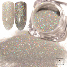 1g  Nail Glitter Powder Gold Sliver Pigment Shinny Chrome Dust Nail Art DIY Decoration For Gel Polishs Nails