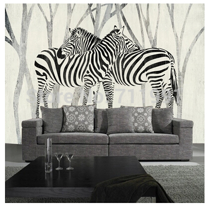Free shipping custom 3D mural classic retro modern sofa bedroom TV backdrop wallpaper zebra wallpaper book knowledge power channel creative 3d large mural wallpaper 3d bedroom living room tv backdrop painting wallpaper